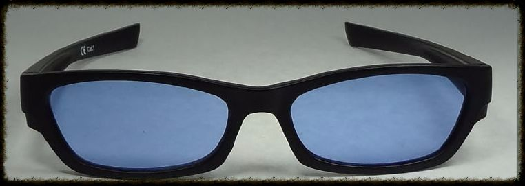 Blue glasses x 2 suitable for age 10 upwards