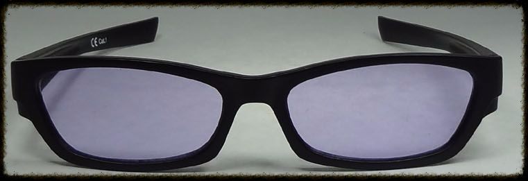 Purple x 2 Glasses suitable for age 10 upwards